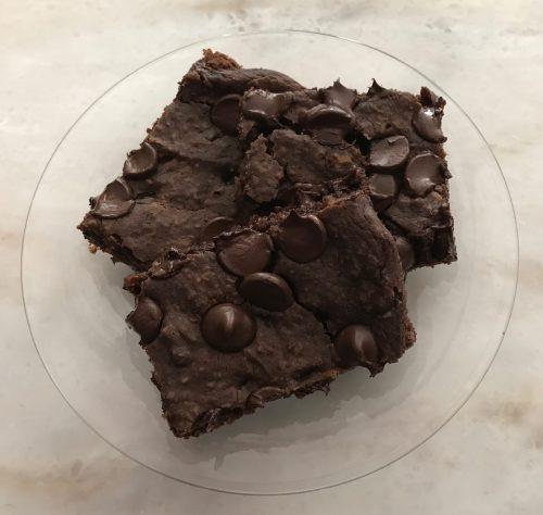 Sweet and Fudgy Black Bean Brownies