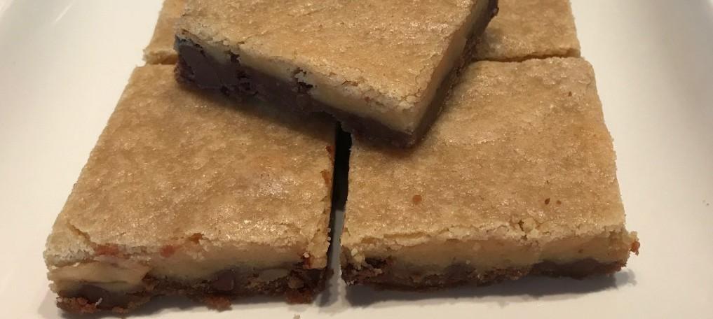 Black Bottom Cookie Bars