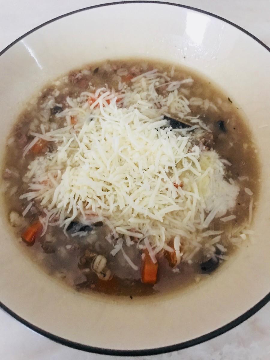 Crock-Pot Beef and Barley Soup